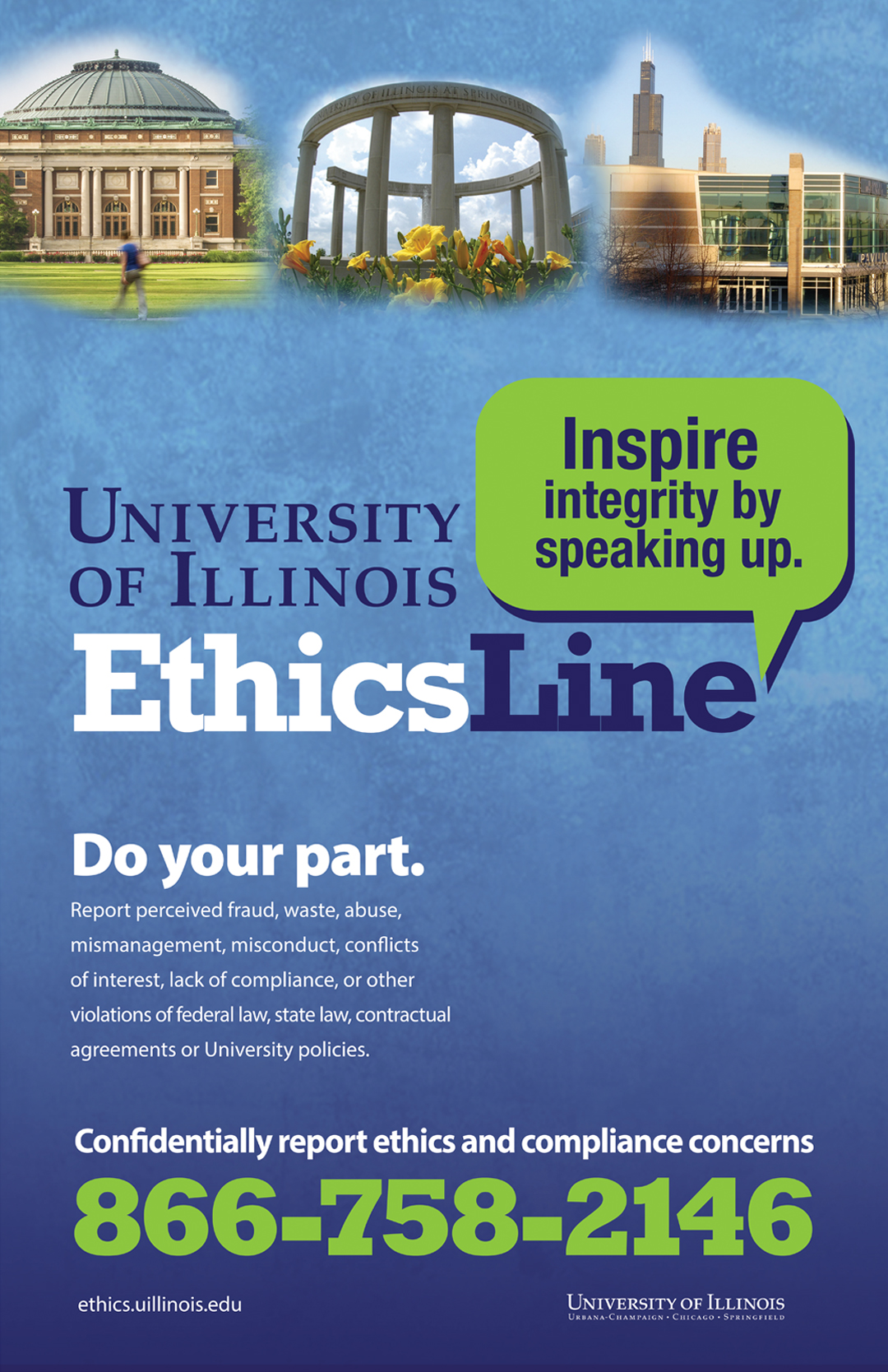 Ethics Line Poster